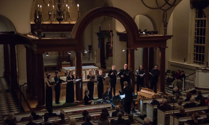 "The Choir of St. Luke in the Fields will perform ""The Splendor of the Spanish Renaissance"" on Feb. 28, 2019. (Courtesy of Choir of St. Luke in the Fields)"