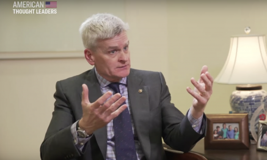 Exclusive: Senator Dr. Bill Cassidy on How Cartel Money Can Fund the Border Wall