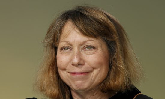 Jill Abramson, former executive editor at the New York Times during commencement ceremonies for Wake Forest University in Winston Salem, N.C., on May 19, 2014. (Chris Keane/Getty Images)