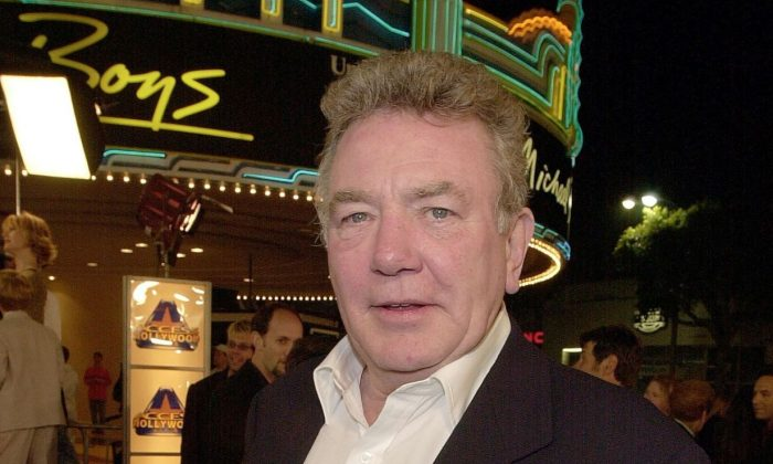 British actor Albert Finney arrives to the premiere of his new film 'Erin Brockovich' in Los Angeles, on March 14, 2000. (Lucy Nicholson/AFP/Getty Images)