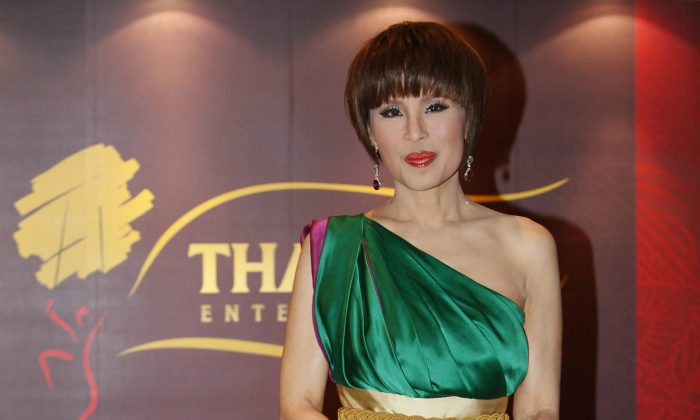 Thai Princess Ubolratana poses for a photo at the Thai Gala Night in Hong Kong, on March 24, 2010. (Kin Cheung/AP Photo, File)