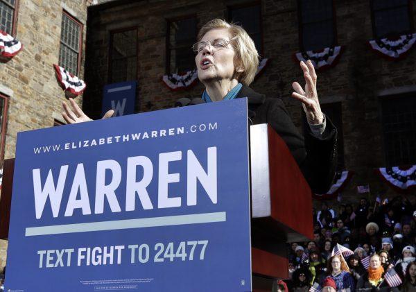 Elizabeth Warren Presidential Bid