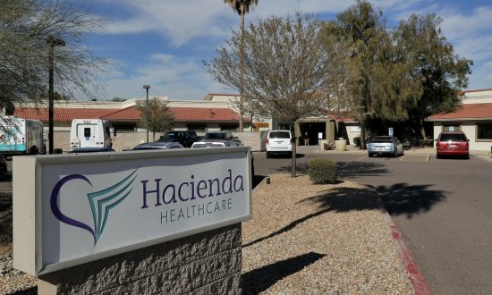 Hacienda HealthCare facility in Phoenix. (Matt York/AP)