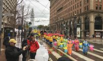 Meditation Group Hosts Parade to Celebrate Chinese New Year