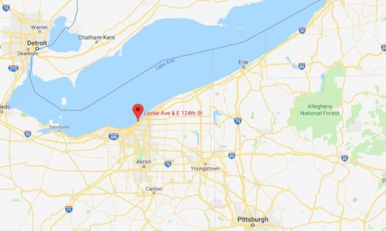 Officials said they discovered a 3-year-old girl wandering the streets of Cleveland, on Feb. 10, 2019. (Google Maps)