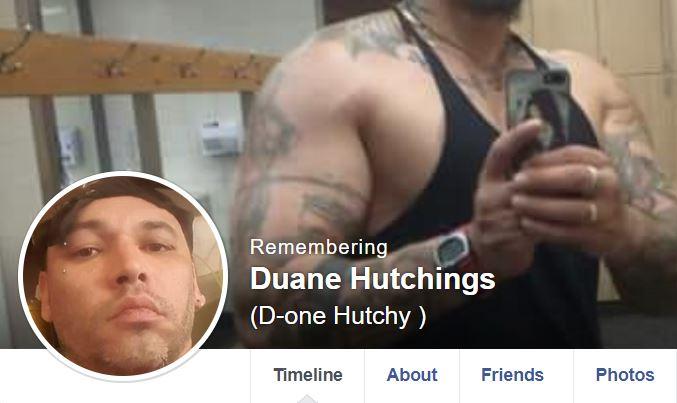 Duane Hutchings killed in Melbourne, Australia. (Screenshot/Facebook)