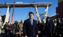 Reconstruction of Italian Bridge Symbol of 'Revival' for Government