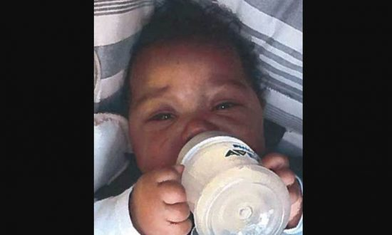 The National Center for Missing and Exploited Children said Jacsun weighs about 20 pounds, is 18 inches tall, and has brown hair and brown eyes. (NCMEC)