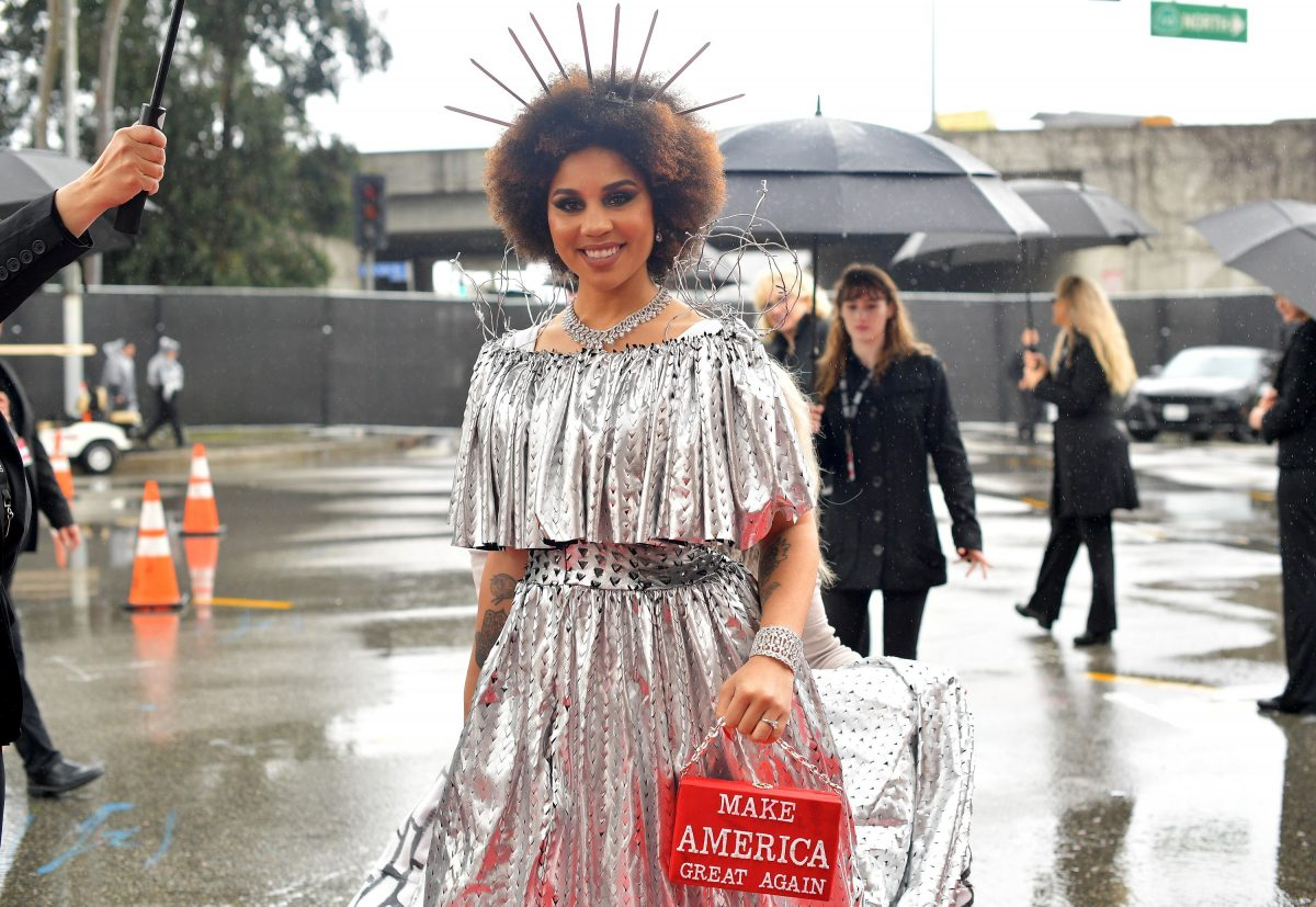 Joy Villa: Singer Dresses As Border Wall Complete With Barb Wire At