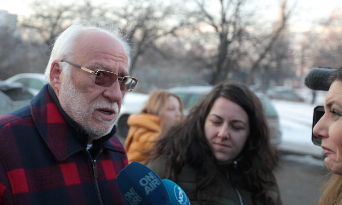 Bulgarian businessman Emilian Gebrev in Sofia, Bulgaria, on Jan. 18, 2019. (Stringer/Reuters)