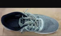 Human Foot, 15th Since 2007, Washes Up on Beach Inside Nike Shoe