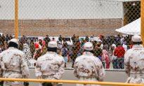 Migrants Riot, Burn Mattress in Tijuana Immigration Facility