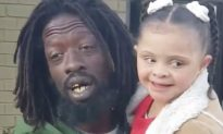 Nonverbal 8-Year-Old Girl with Down Syndrome Sings Her Way into Homeless Man's Heart