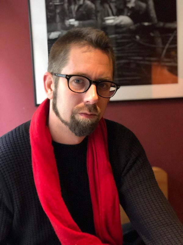 Activist Peter Dahlin. (Handout)