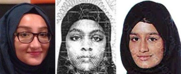 runaway ISIS schoolgirls