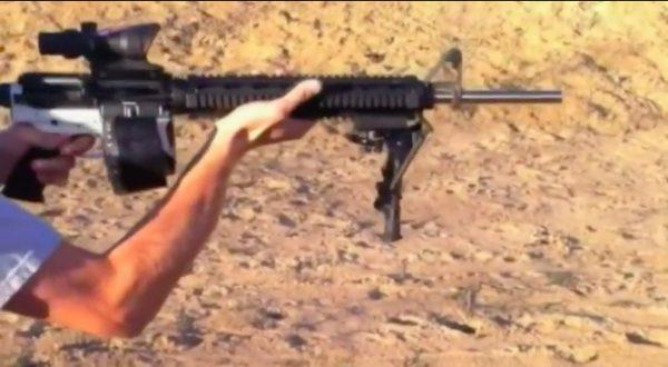 3-D printed gun a-15