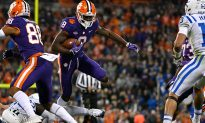 Clemson Football Player Blindsided When Fan 'Hits' Him, Tears Flow When He Sees Who