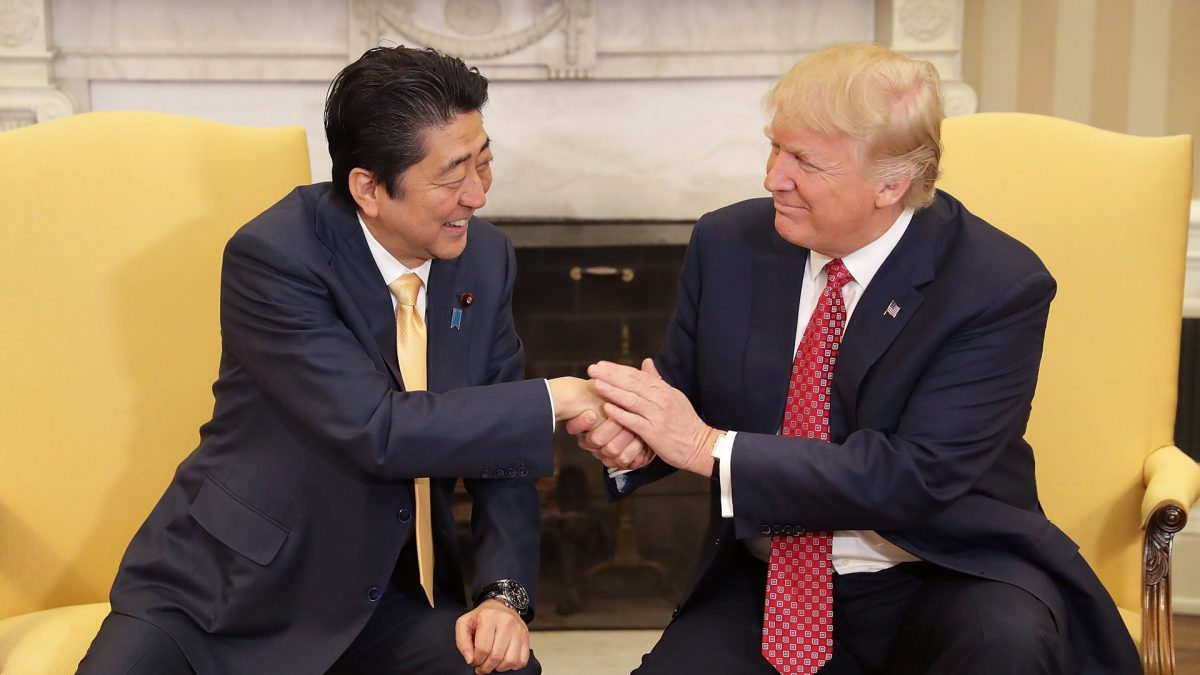 Trump: Japanese Leader Nominated Me for Nobel Peace Prize