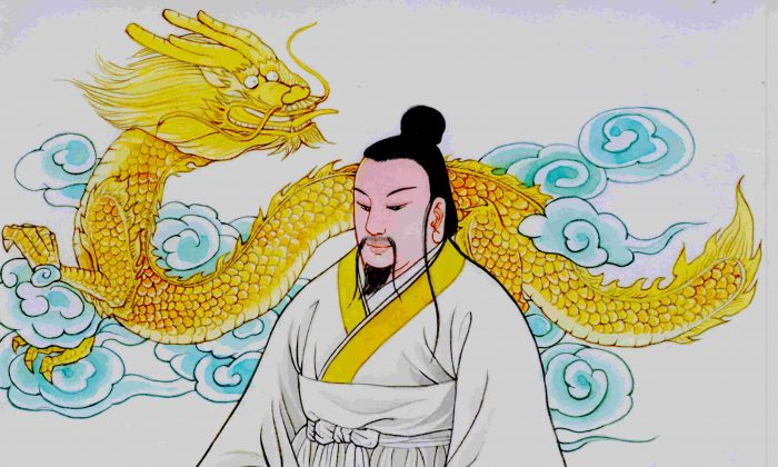 China's legendary founder, the Yellow Emperor, is said to have attained enlightenment. Thus, spirituality comes from the very roots of Chinese culture.  (Blue Hsiao/The Epoch Times)