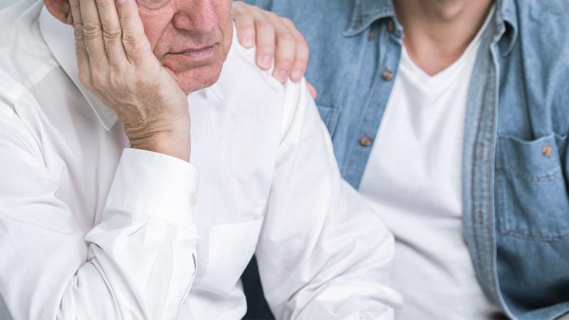 Stranger Makes Teen Apologize to Elderly Man for Mocking Him in Bathroom