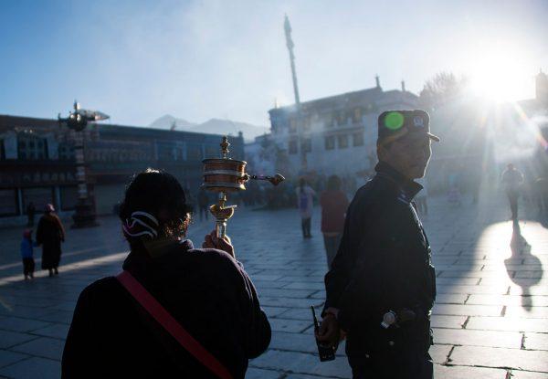 Pilgrim and police