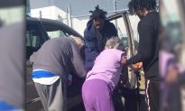 Cop Sees 3 Rappers Rushing Toward 100-Year-Old Vet at Gas Station and Starts Filming