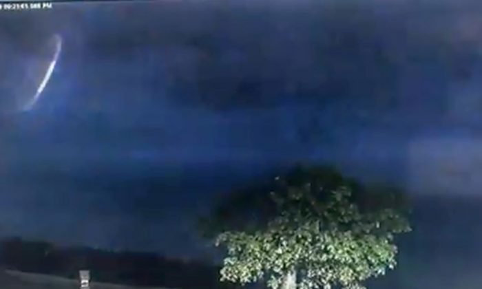 Australia Police Share Footage of Glowing Light During Thunderstorm
