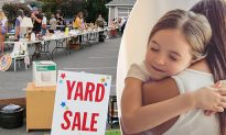 Yard Sale Owner Overhears Downtrodden Mom and Daughter's Talk, Gives Everything for Free