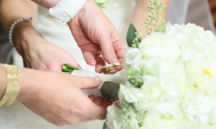 A stock photo of a wedding (Illustration - Shutterstock)