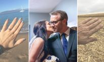 Dad Recreates Daughter's Honeymoon Photos With a Hilarious Twist, Internet Is in Splits