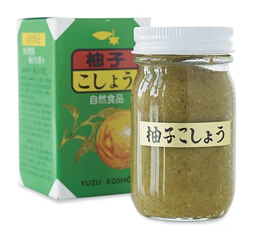 Yuzukosho bottle and box