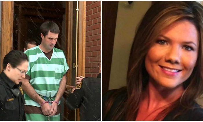 L: Patrick Frazee (Teller County Jail); Kelsey Berreth (Courtesy of Family of Kelsey Berreth's family via CNN)