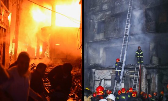 70 Dead After a Devastating Fire in Dhaka, Bangladesh