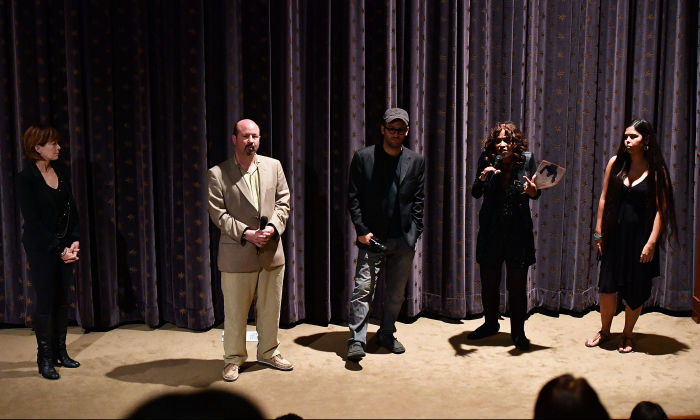 "Scientist Michael Mann, second from left, attends the New York screening of the HBO Documentary ""How To Let Go Of The World And All The Things Climate Can't Change"" on June 21, 2016 in New York City.  (Slaven Vlasic/Getty Images for HBO)"