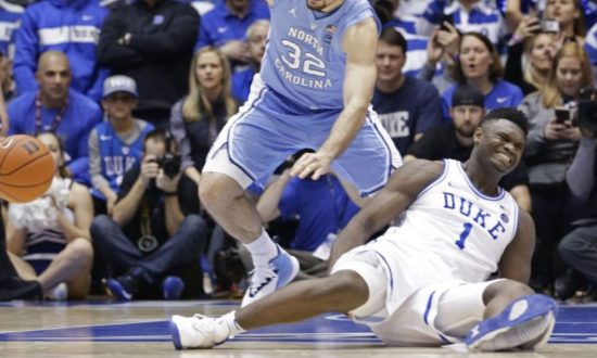aa1e1f1a41f Duke Player Hurt as Sneaker Falls Apart