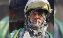 The Face of a Hero: Wisconsin Fire Chief Thrashes House Fire in -50F Winds