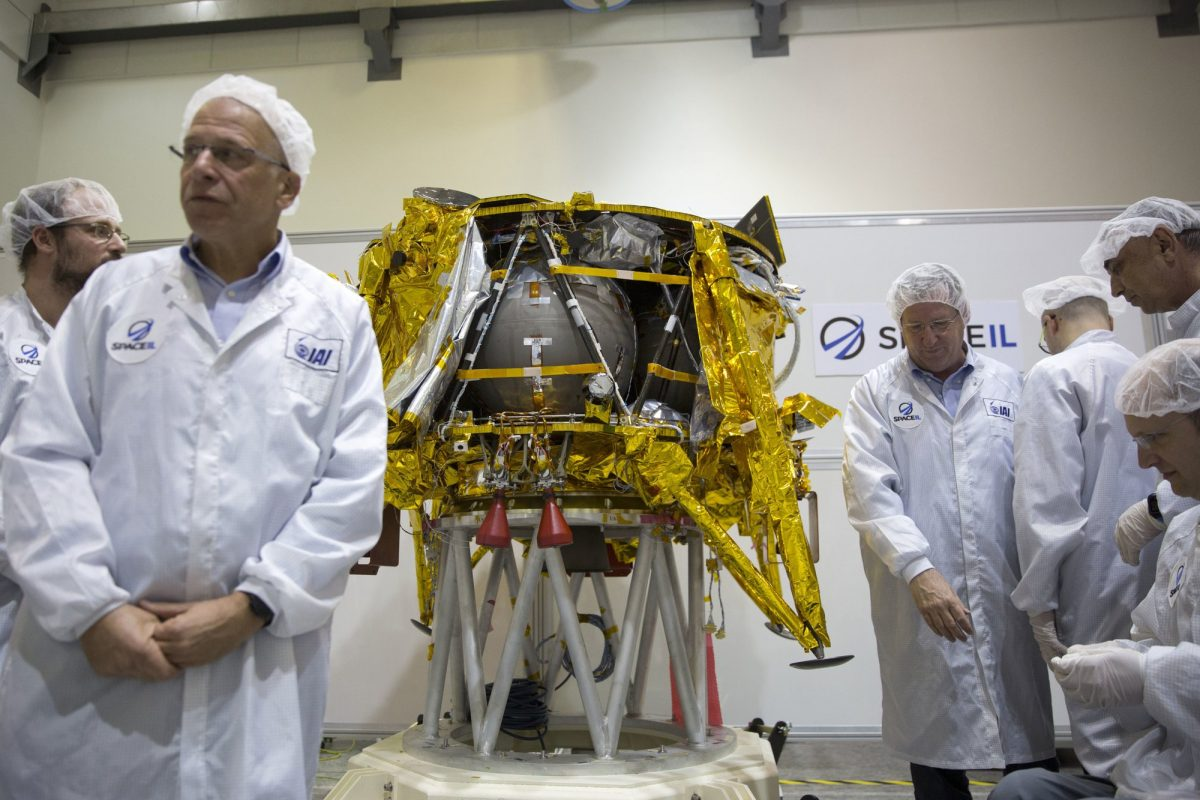 BriefIsrael to launch country's first space mission to the moon