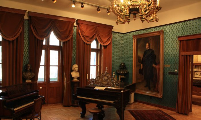 Composer and piano virtuoso Franz Liszt's apartment in Budapest. Should an unfinished work by a master artist ever be finished? Yes, under certain circumstances. (CC BY-SA 3.0)