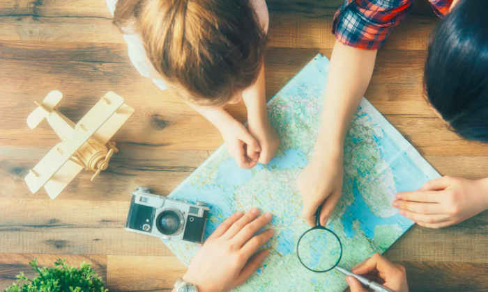 When you're planning your trips, involve your children. ( Yuganov Konstantin/shutterstock)