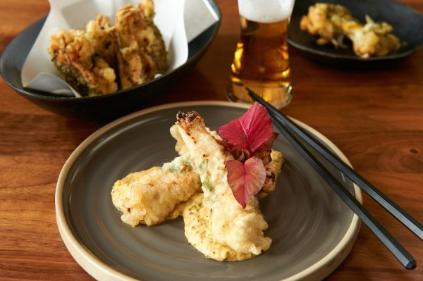The popular Tori Tempura chicken at Izakaya Sushi Ran is marinated in mirin and koji. (Courtesy of Izakaya Sushi Ran)