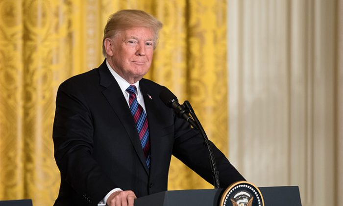 President Trump Donates Portion of $400,000 Salary to 'Emerging Leaders' Vets Program