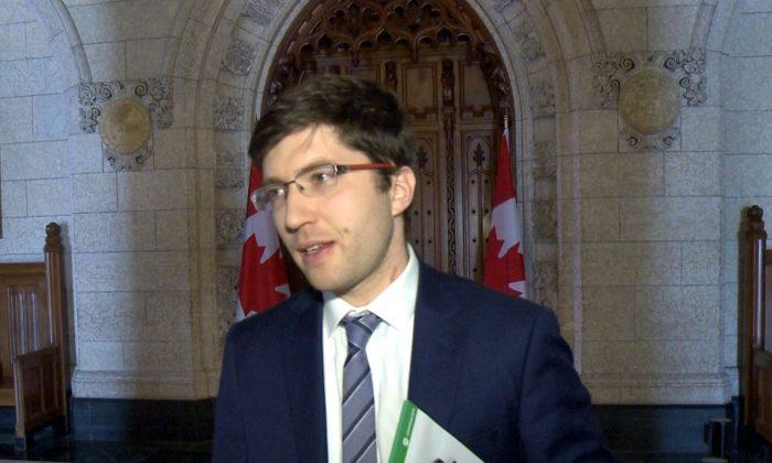 Conservative MP Garnett Genuis in a file photo. (NTD Television)