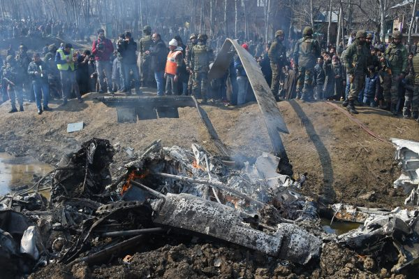 Indian crashed helicopter