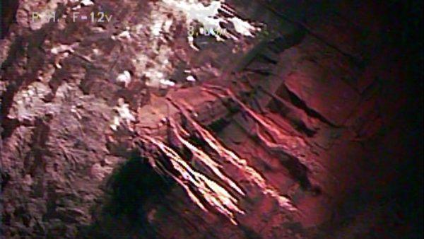 beam in underground vault