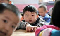 Preschool Enrollment in China Falls, Indicating Effects of Low Birth Rate
