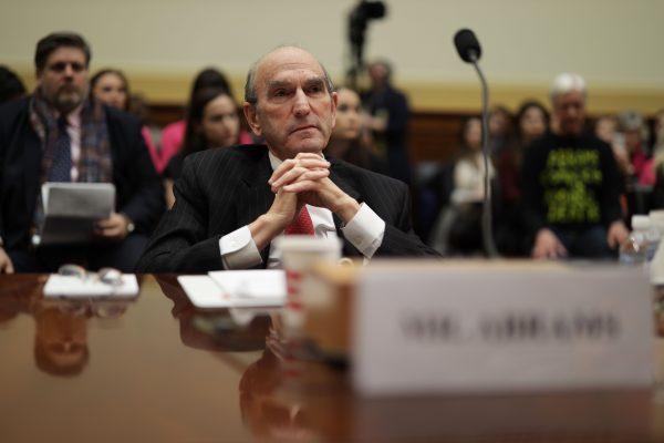 U.S. special envoy for Venezuela, Elliott Abrams