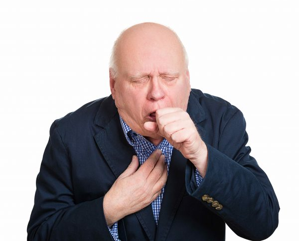 Chronic hacking or raspy coughing