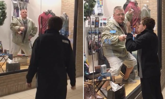 New Jersey Father Hilariously Poses as a Mannequin to Surprise His Special-Needs Son