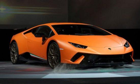 300 000 Lamborghini Huracan Found In A Ditch Reports