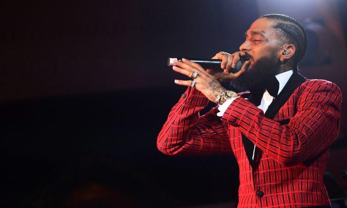Rapper Nipsey Hussle Shot Dead Near LA Clothing Store
